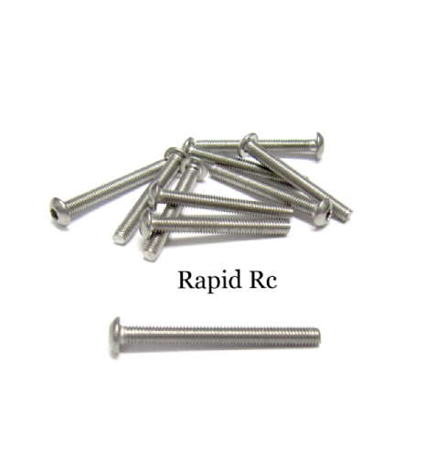 M3x25mm Stainless Steel Socket Button head Bolt